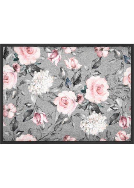 tapis de protection motif floral