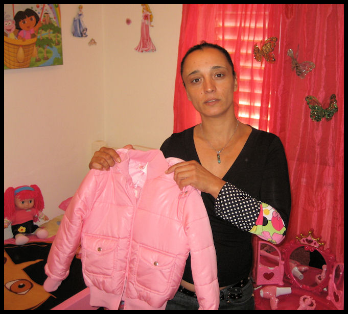 Mazal, a single mother and now a Jewish believer, was blessed by the donations from this ministry.