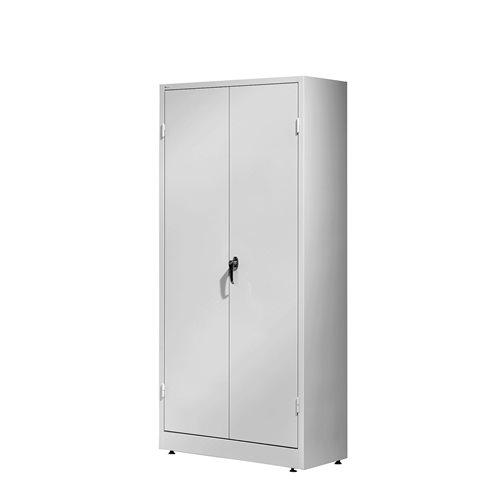 Stahlschrank Sense, 1800 x 800 x 400 mm, K: grau/T: grau AJ Produkte Deutschland