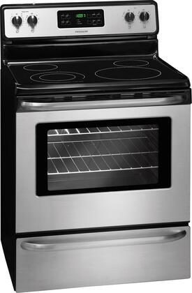 Frigidaire FFEF3048LS 30 Inch Electric Freestanding Range With Smoothtop Cooktop 53 Cu Ft