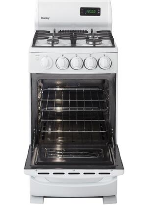 Danby DR2099WGLP 20 Inch Gas Freestanding Range With Sealed Burner Cooktop 262 Cu Ft Primary