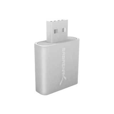 Sabrent AU-EMAC - Sound card - stereo - USB 2.0
