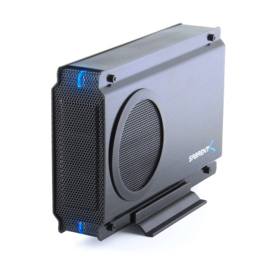 Connect any 3.5&quot  IDE/PATA or Serial ATA/SATA Desktop Hard Drive externally to your computer through an available USB 2.0 port or eSata port. Transfer data quickly and easily t