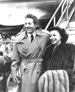 Sylvia Fine and Danny Kaye