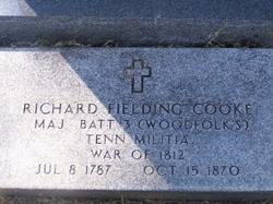 MAJ Richard Fielding Cooke