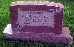 Gracie A. <i>Putney</i> Wheeler