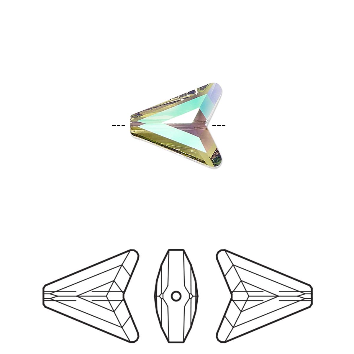 Bead Swarovski Crystals Crystal Paradise Shine 12mm