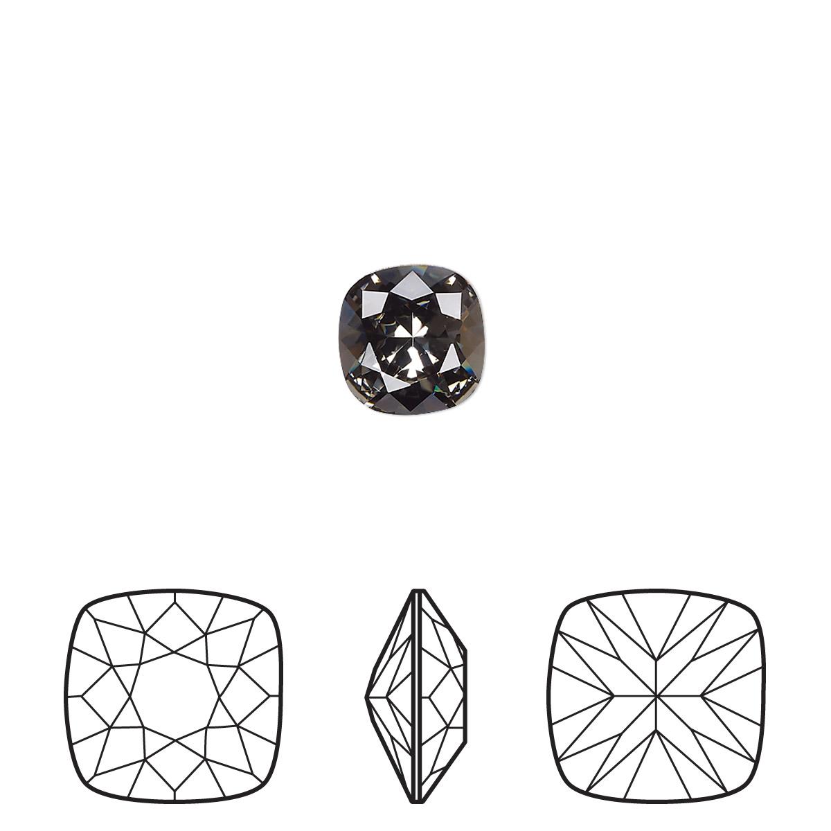 Embellishment Swarovski Crystal Rhinestone Black