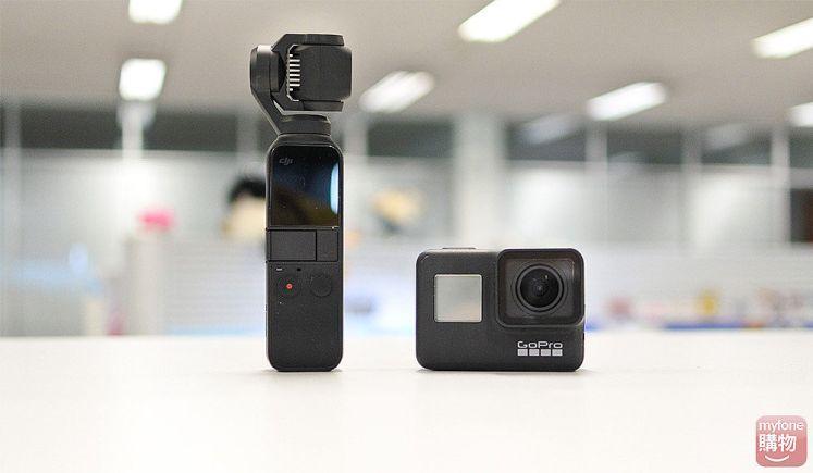 運動相機推薦 DJI OSMO Pocket VS GoPro Hero7 Black 大車拚!誰與爭鋒!你該選哪一台?