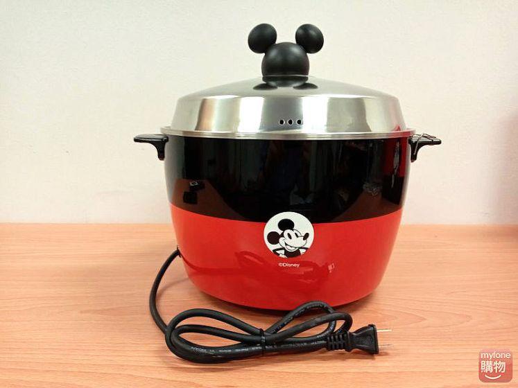 迪士尼米奇系列 11人份 304不鏽鋼電鍋-經典紅背面