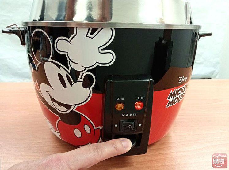 Disney 迪士尼米奇系列 11人份 304不鏽鋼電鍋開箱