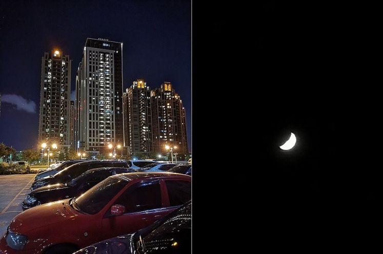 夜間拍攝驚艷動人,拍攝月亮也沒問題