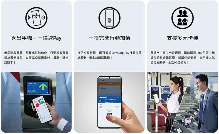 Samsung Pay以及如何綁定悠遊卡教學