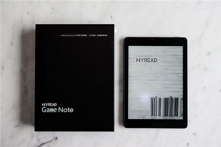 HyRead Gaze Note 7.8吋 全平面電子紙閱讀器