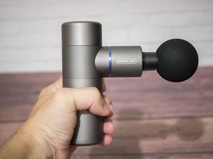 REMAXLIFE便攜按摩槍(RL-PC09)外型
