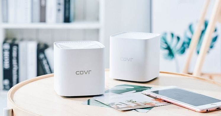 D-Link COVR-1100 Mesh Wi-Fi 無線網路路由器,輕鬆實現高涵蓋範圍與穩定收訊!