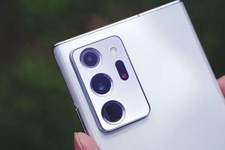 Galaxy Note20 Ultra 5G 的三鏡頭架構