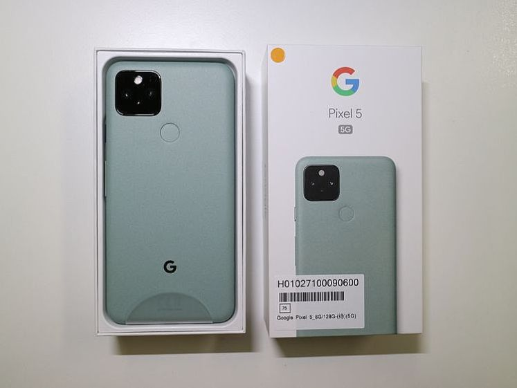 開箱 Google Pixel 5