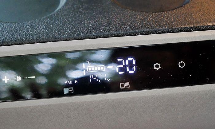 山水 行動冰箱雙槽雙溫控