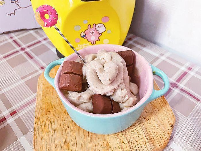 香蕉冰淇淋製作完成