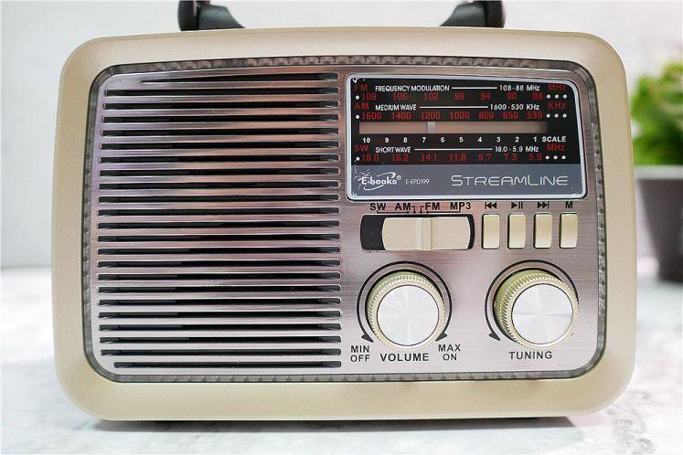 超復古收音機 E-books D35 復刻經典時光藍牙喇叭