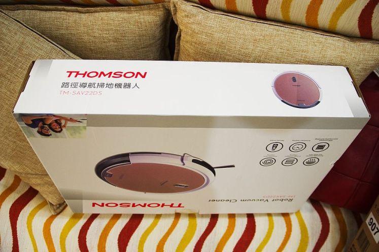THOMSON 路徑導航掃地機器人 TM-SAV22D外盒