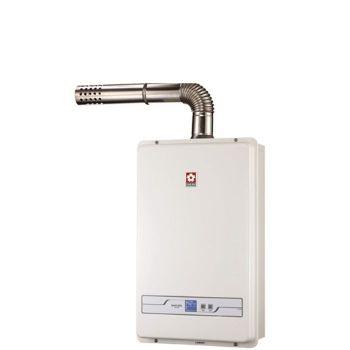 櫻花13公升強制排氣熱水器