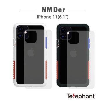Telephant 太樂芬 NMDER iPhone 11(6.1吋)抗汙防摔手機殼