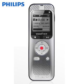 PHILIPS 多功能數位立體聲錄音筆 DVT2050