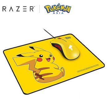 Razer 雷蛇 滑鼠+滑鼠墊套裝 皮卡丘限定款