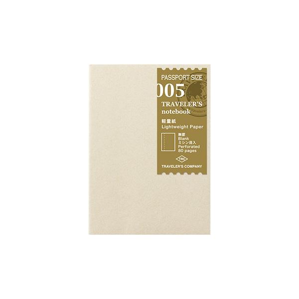 トラベラーズノート パスポートサイズ リフィル 軽量紙(14371006)