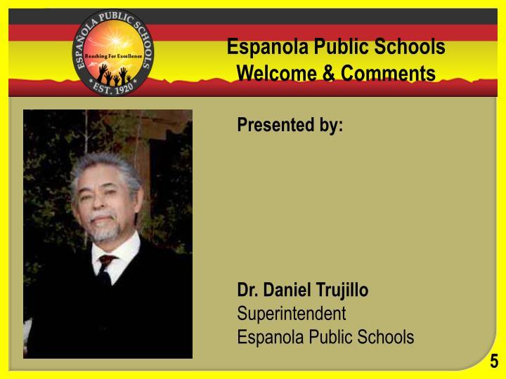 Espanola Public Schools District