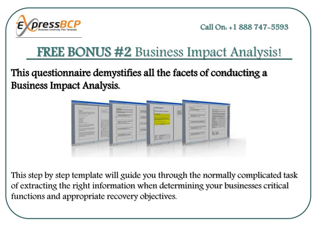 View 36 Business Impactysis Questionnaire Template