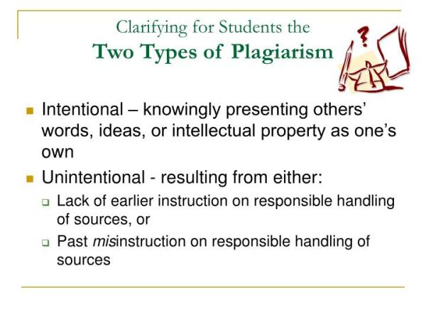 PPT - Discouraging Plagiarism in Student Papers Short of ...