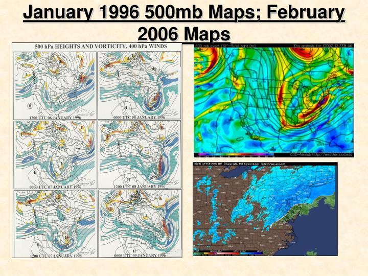 Character Of 500 HPA (mb) Trough PowerPoint