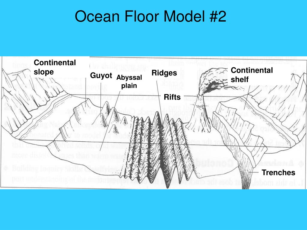 Section 14 2 Ocean Floor Features Worksheet