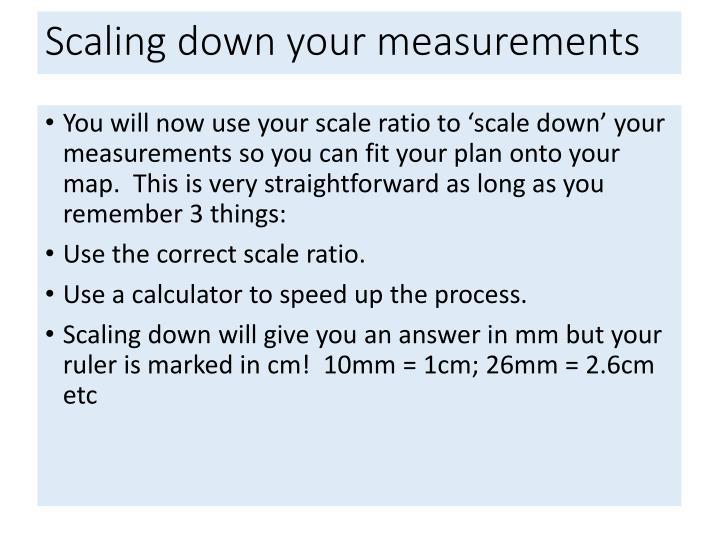 Map Scale Ratio Calculator