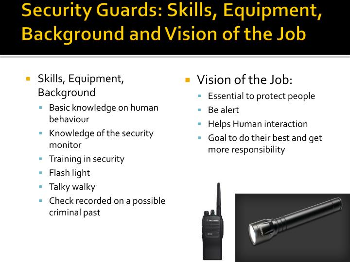 Mall Security Training