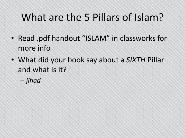 Worlds Of Islam PowerPoint Presentation