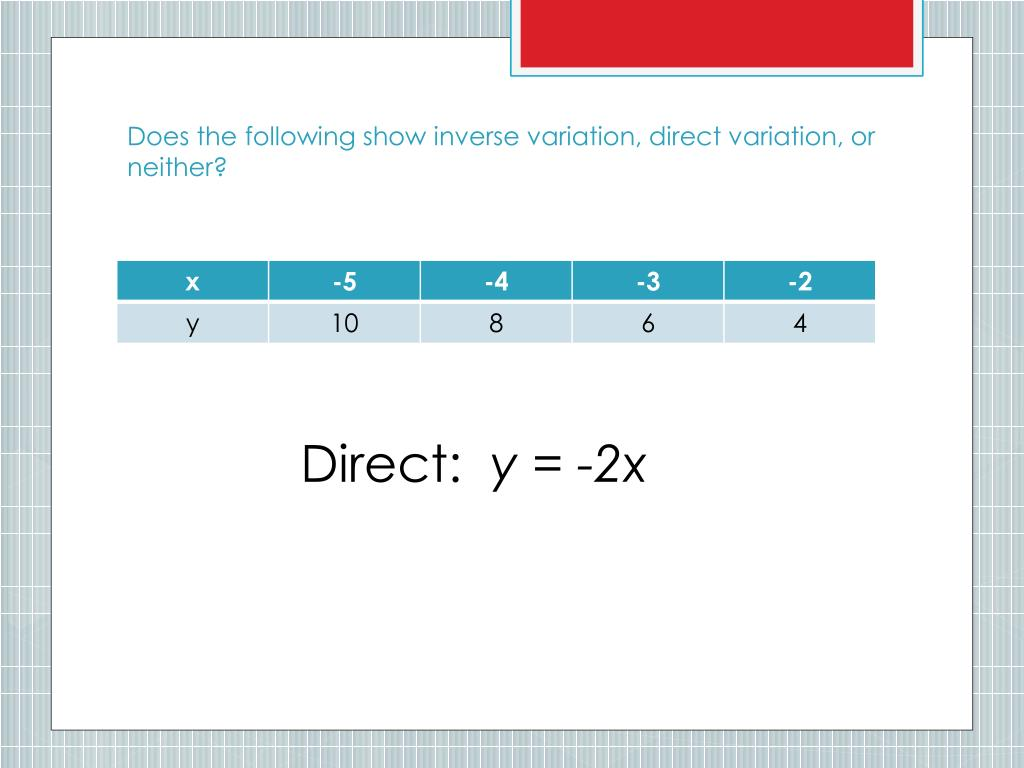 Direct Joint Inverse Variation Worksheet