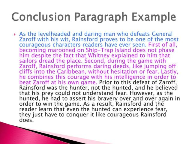 PPT - How to Write a Conclusion Paragraph PowerPoint Presentation
