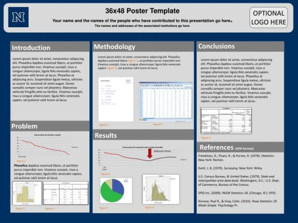 PPT 36x48 Poster Template PowerPoint Presentation ID