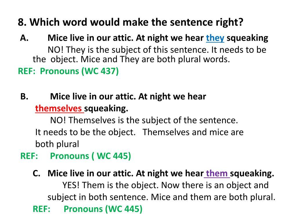 Attic Sentence