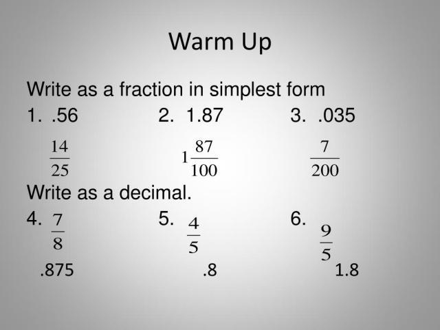 PPT - Pre-Algebra PowerPoint Presentation, free download - ID:28
