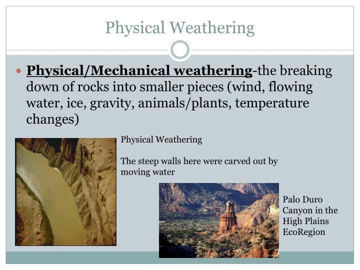 Weathering, Erosion, & Deposition PowerPoint