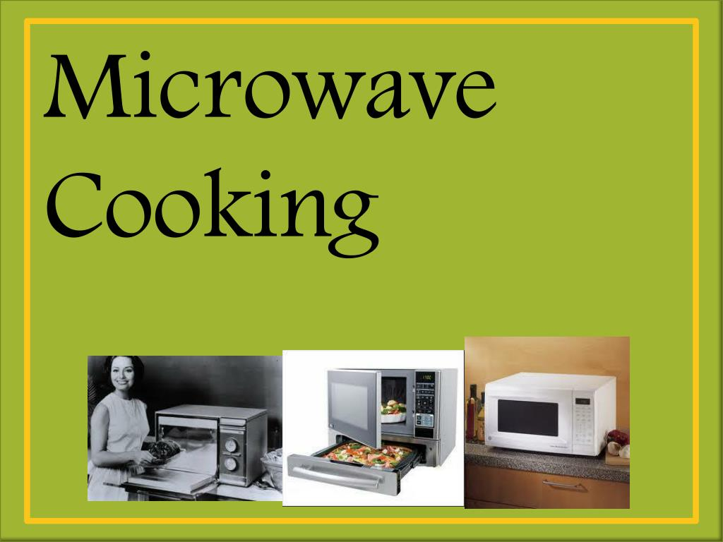 ppt microwave cooking powerpoint