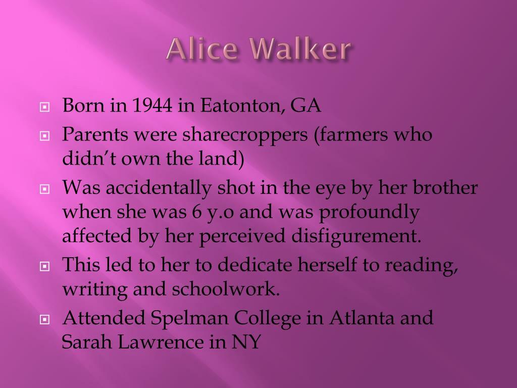 The Flowers By Alice Walker Literaryysis