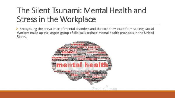 PPT - The Silent Tsunami: Mental Health and Stress in the ...