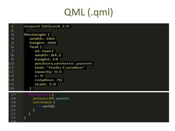 PPT - QML PowerPoint Presentation - ID:2631431