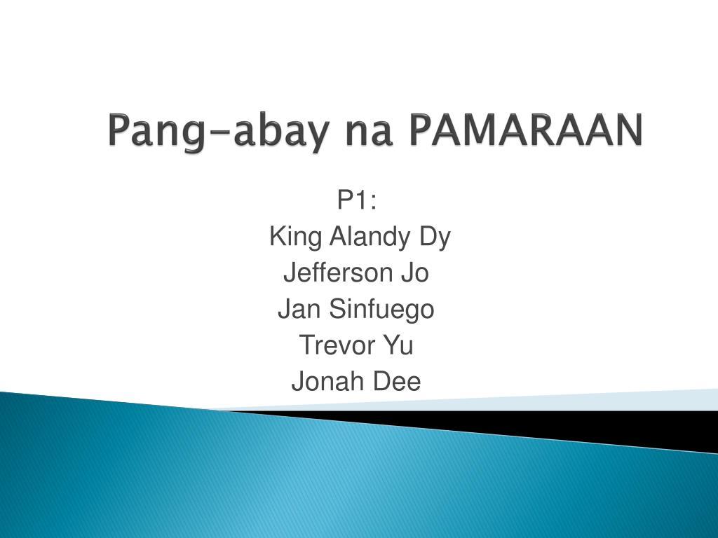 Uri Ng Panghalip Worksheet For Grade 4